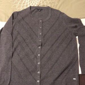 Tommy Hilfiger grey cardigan